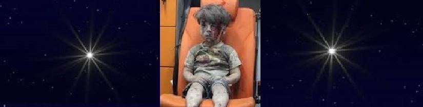 Klein, lief Syrisch jongetje